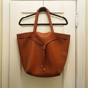 SOLD - Cognac Tote Bag